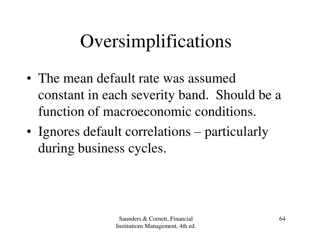Oversimplifications