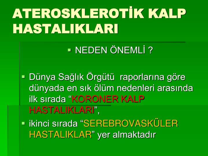 Aterosklerot k kalp hastaliklari3