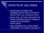 effects of iac risks26