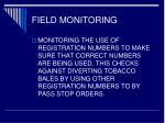field monitoring18