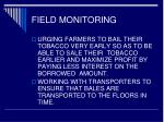 field monitoring19