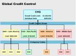global credit control