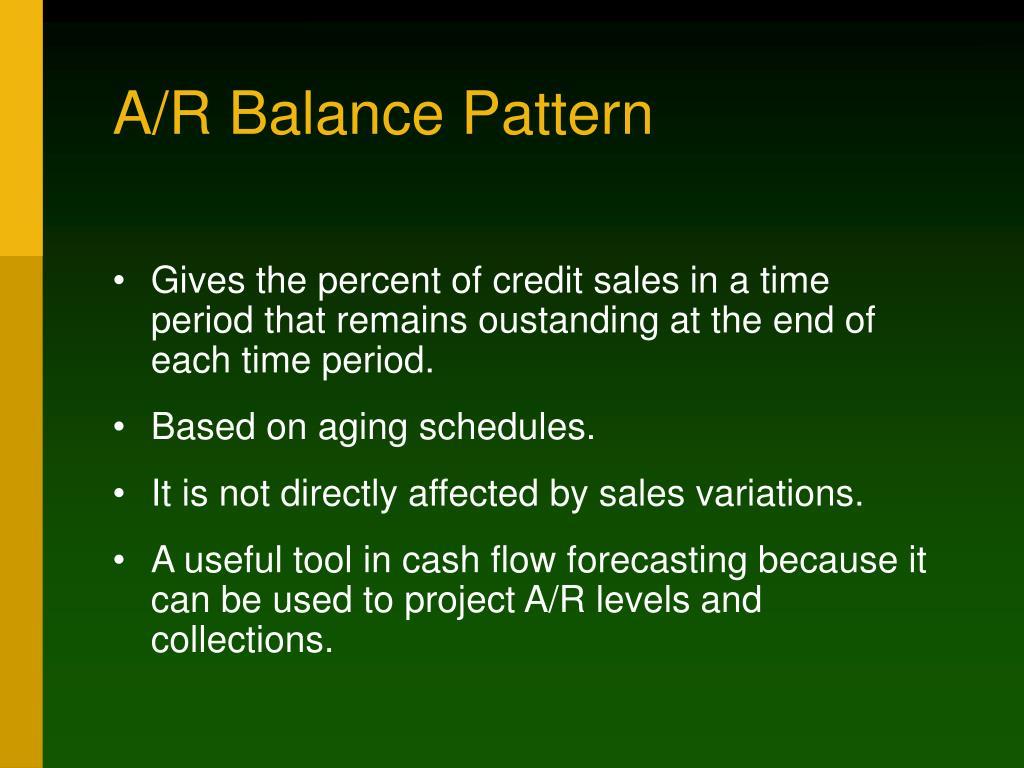 A/R Balance Pattern