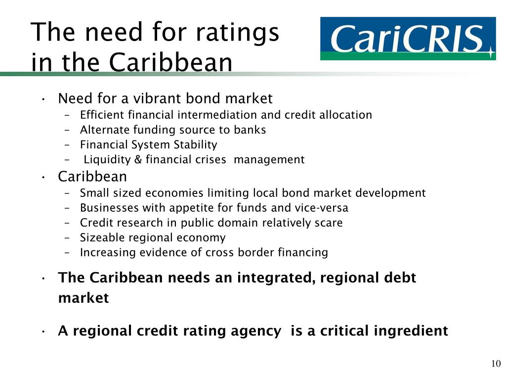 The need for ratings in the Caribbean