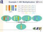 example 1 mv multiplication