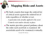 mapping risks and assets