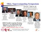 okla supercomputing symposium12