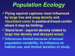 population ecology54