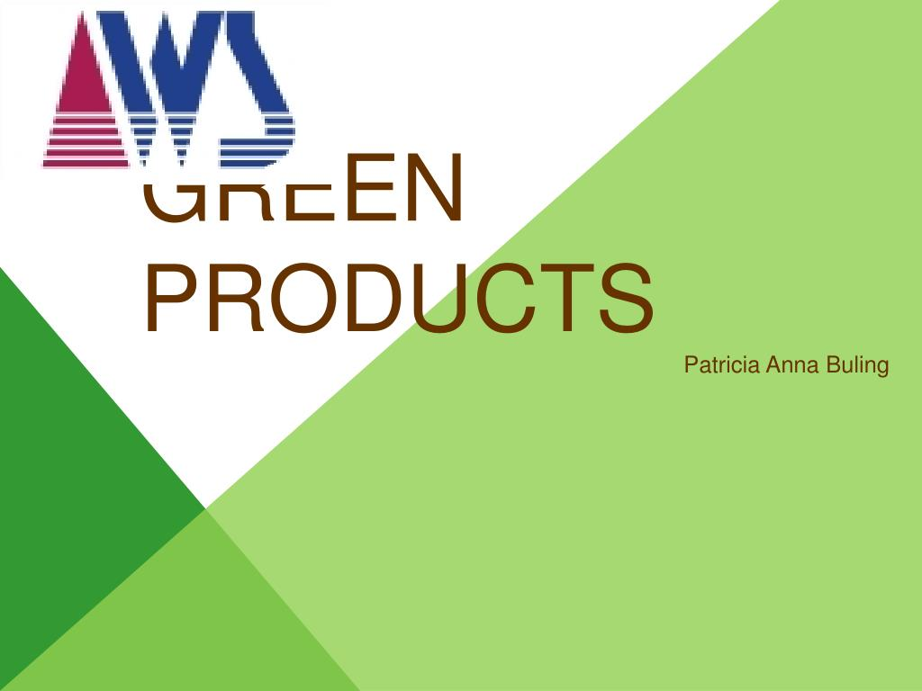 green products l.