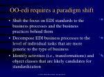 oo edi requires a paradigm shift