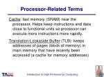 processor related terms32