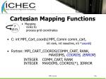 cartesian mapping functions