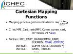 cartesian mapping functions107