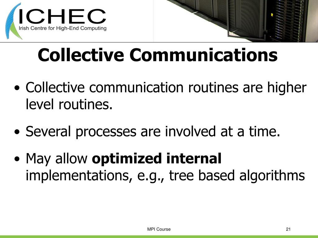 Collective Communications