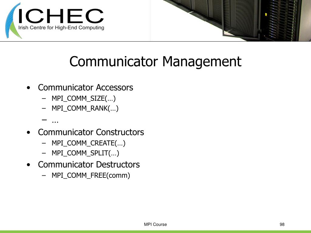 Communicator Management