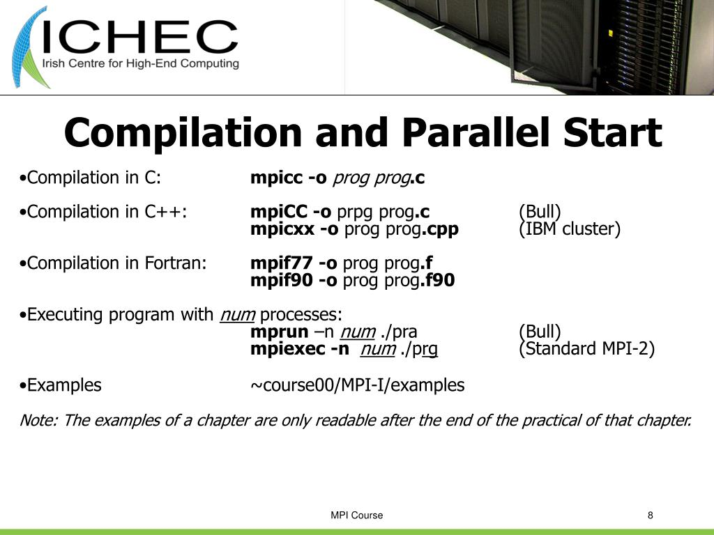 Compilation and Parallel Start