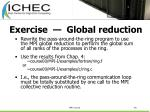 exercise global reduction