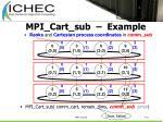 mpi cart sub example