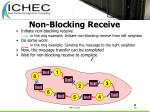 non blocking receive