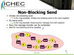 non blocking send