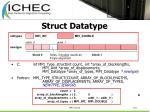 struct datatype