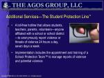 additional services the student protection line