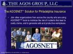 the agosnet solution for philadelphia insurance