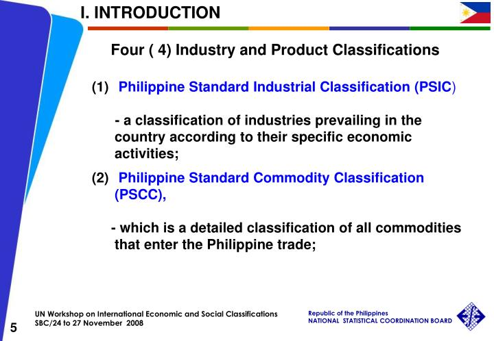 the philippine standard industrial classification This page allows the user to search the 1987 version sic manual by keyword, to access descriptive information for a specified 2,3,4-digit sic, and to examine the manual structure.