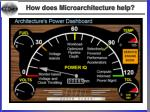 how does microarchitecture help