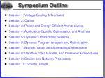 symposium outline