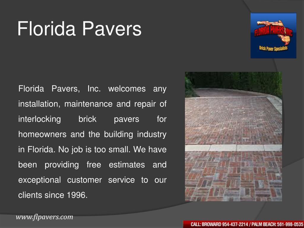 Florida Pavers