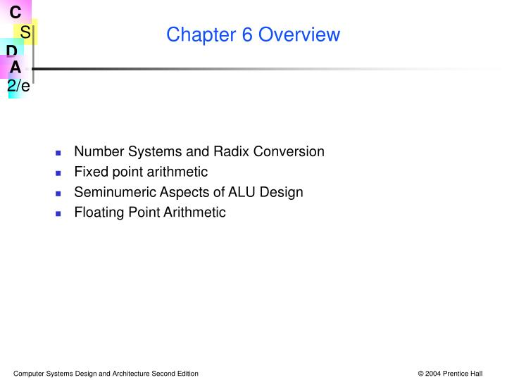 chapter 6 overview n.