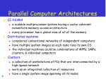 parallel computer architectures7