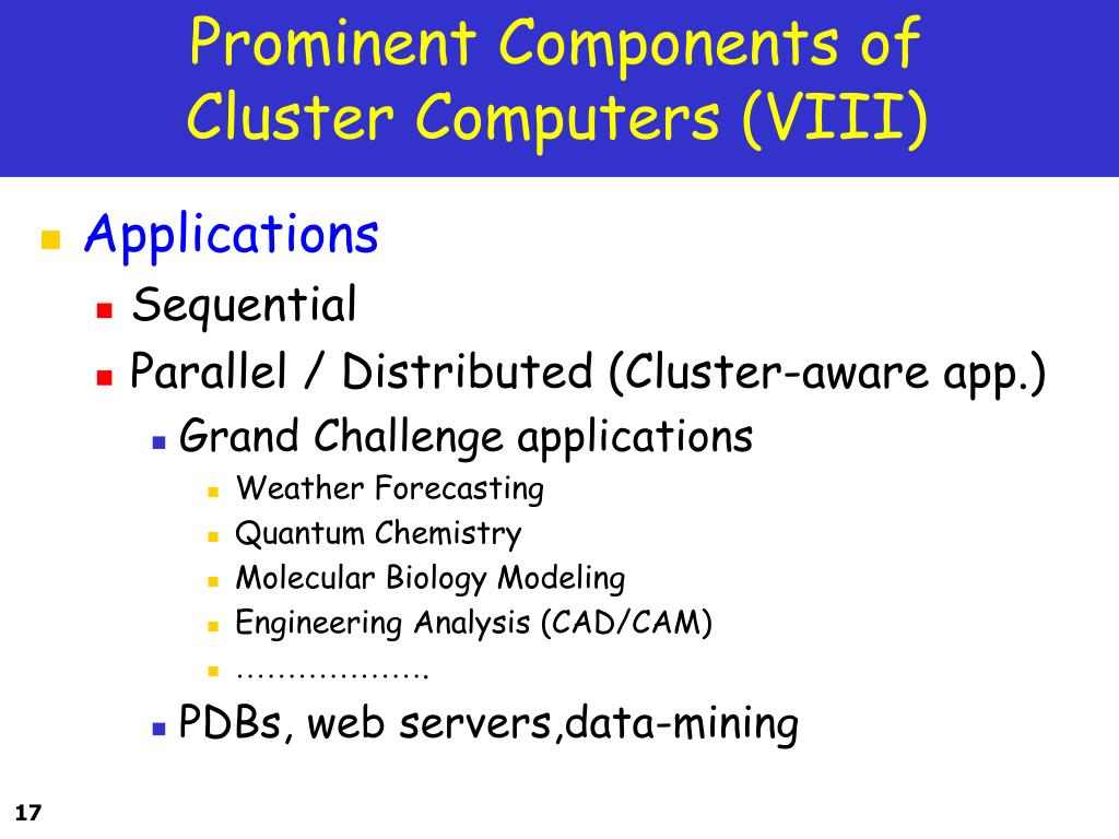Prominent Components of