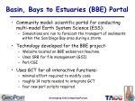 basin bays to estuaries bbe portal