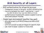 grid security at all layers