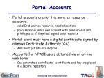 portal accounts