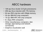 abcc hardware