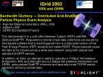 igrid 2002 usa and cern