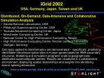 igrid 2002 usa germany japan taiwan and uk