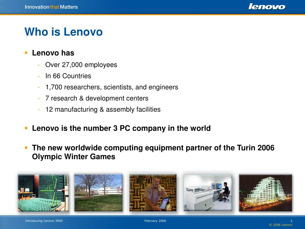 Who is Lenovo