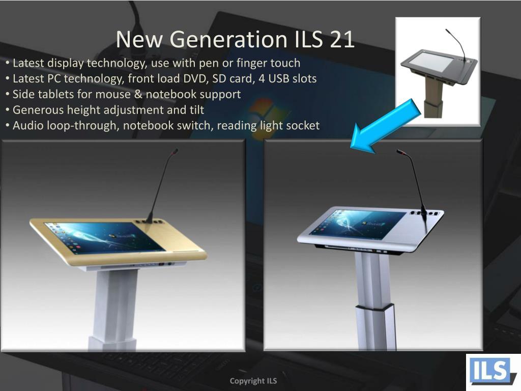 New Generation ILS 21