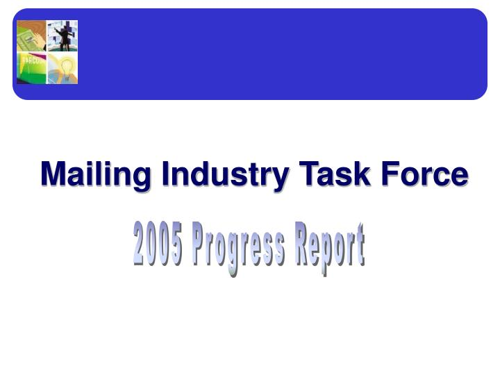 mailing industry task force n.