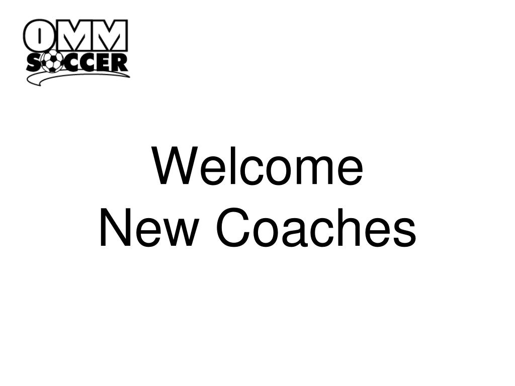welcome new coaches l.