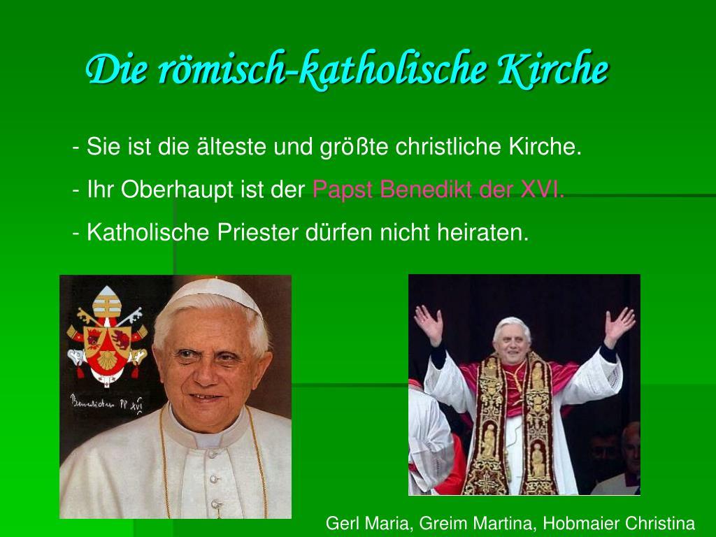 Die römisch-katholische Kirche