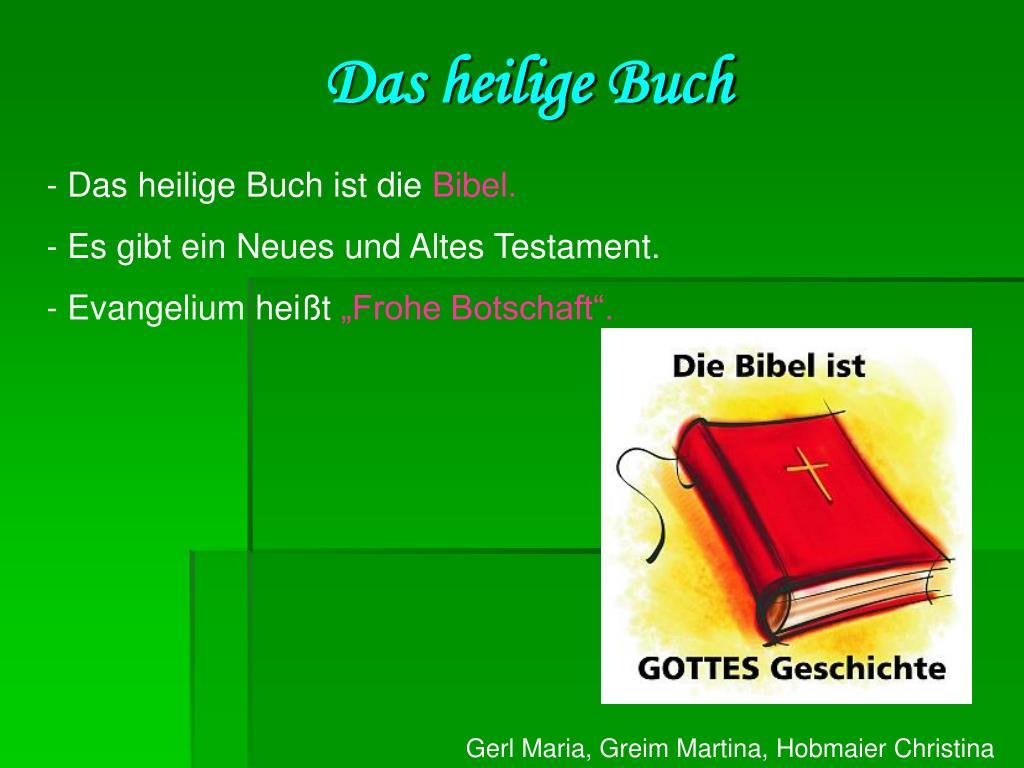 Das heilige Buch