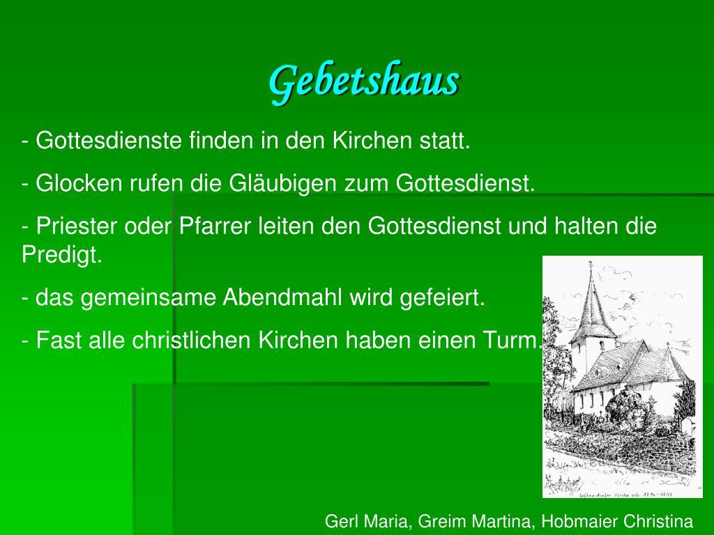 Gebetshaus