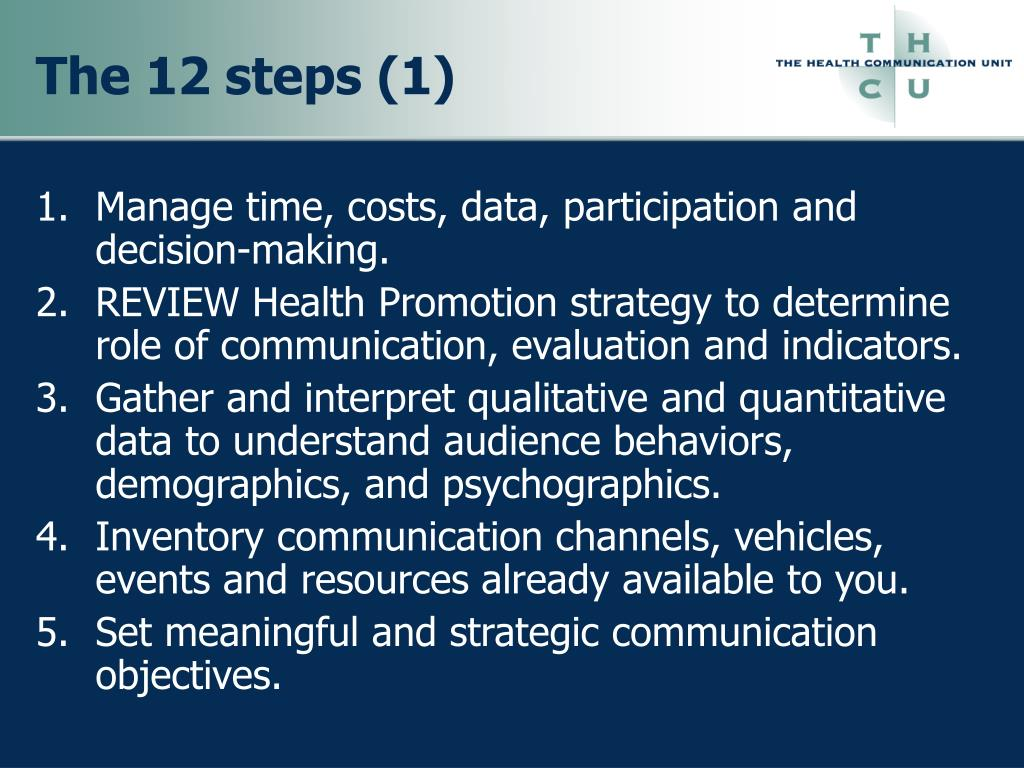The 12 steps (1)
