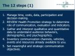 the 12 steps 1