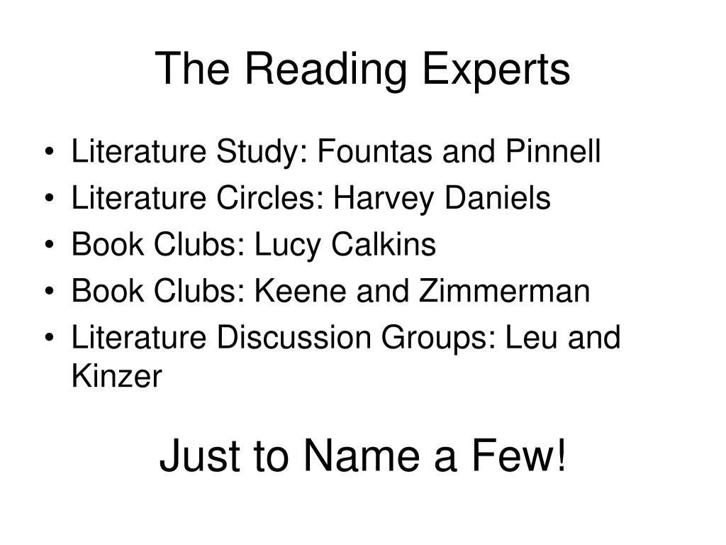 The Reading Experts